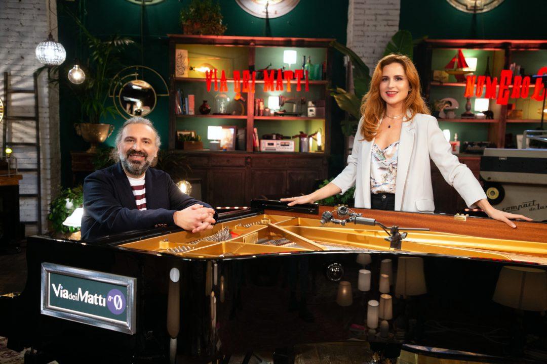 Via dei Matti numero 0, il nuovo programma di Stefano Bollani e Valentina Cenni, dal 15 marzo su Rai3