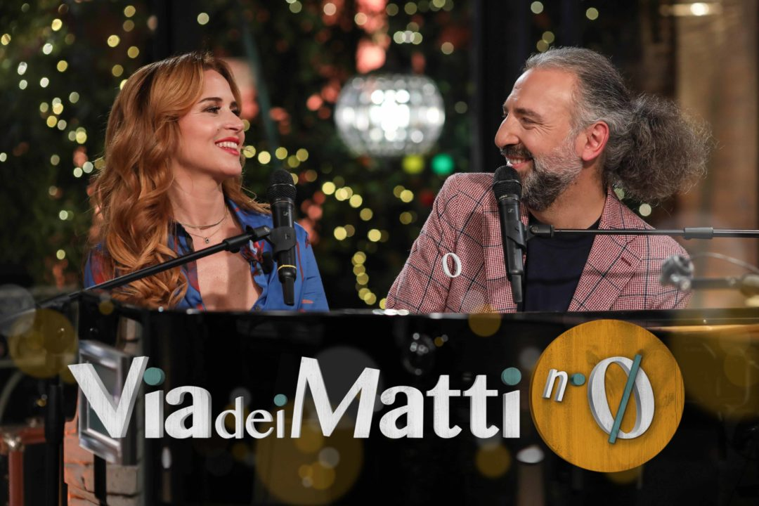 Via dei Matti numero 0, Stefano Bollani and Valentina Cenni's new TV show on Rai 3 from 15 March