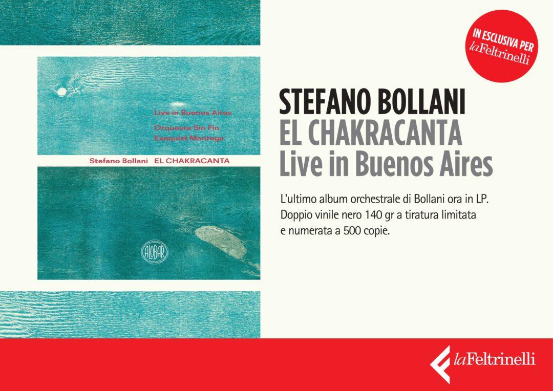 EL CHACKRACANTA dal 28 maggio in doppio vinile 140 gr a tiratura limitata e numerata (esclusiva La Feltrinelli)
